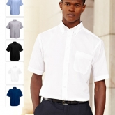 65-112-0-camasi_promotionale_barbatesti_colorate_cu_maneci_scurte-short-sleeve-oxford-shirt-fruit-of-the-loom